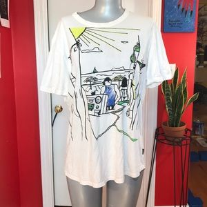 Just cavalli beach bum vintage T-shirt XL